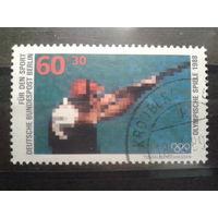 Берлин 1988 Олимпиада Сеул, стрельба Михель-1,8 евро гаш