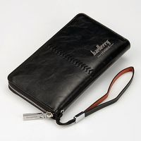 Мужское портмоне Baellerry Leather, новое.