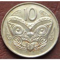 723:  10 центов 1988 Новая Зеландия
