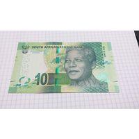 Южная Африка 10 рандов 2015 unc