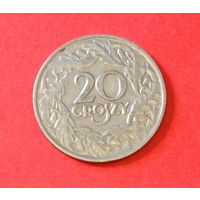 Польша, 20 грош 1923 г.