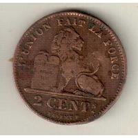 Бельгия 2 сантим 1905 2