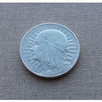 Польша, 5 злотых 1933 г., серебро
