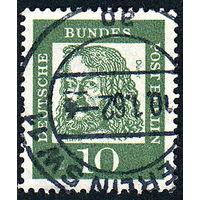 123: Германия (Западный Берлин), почтовая марка, 1961 год