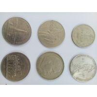 5 юбилейных монет СССР