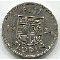 ФИДЖИ - ФЛОРИН 1934