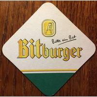 Подставка под пиво Bitburger No 6