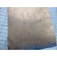 Листовая латунь 0,5 мм,  500 х 1500мм