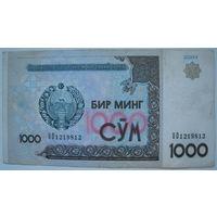 Узбекистан 1000 сум 2001 г.