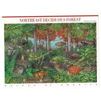 США Северо-восточный лес 2005 год чистый полный лист из 10-ти марок
