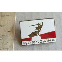 Значок WARSZAWA Польша
