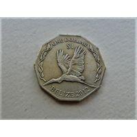 Белиз 1 доллар 2012