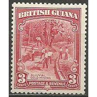 Британская Гвиана. Добыча золота. 1934г. Mi#158.