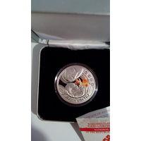 """"""" Мацярынства """" ( Материнство ), серебро , 20 рублей, 2011 год ."""