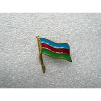 Знак фрачный. Флаг Кубанского казачества. Цанга.