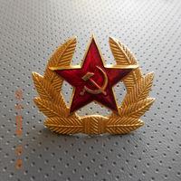 Солдатская кокарда ВС СССР