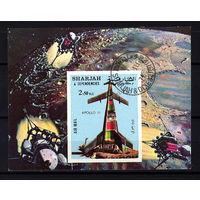 1972 ОАЭ. Шарджа. Аполлон 11