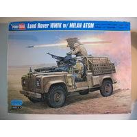 Джип Land Rover WMIK w/Milan ATGM 1/35 Hobby Boss