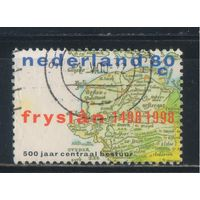 Нидерланды 1998 500 летие центральной власти  в Фрисландии #1660