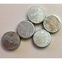 Магнит неодимовый ((цена за 12 штук)) 6,5 x 1.5 мм. Редкоземельный
