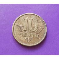10 центов 2009 Литва #04