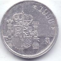 Испания,  1 песета 1996 года.