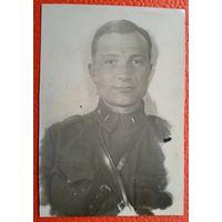 Фото офицера. Ноябрь 1941 г. 7х10 см