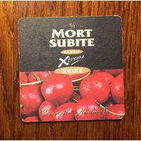 Подставка под пиво Mort Subite No 5