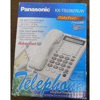 НОВЫЙ Проводной телефон PANASONIC KX-TS2362RUW