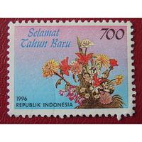 Индонезия 1996г. Флора.