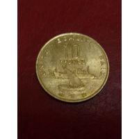 Джибути 10 франков 1996 UNC
