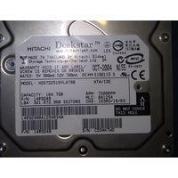 Жёсткий диск (винчестер) IDE Deskstar HITACHI (164 Гб)