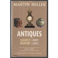 Антиквариат Гид по розничным ценам Миллер Книга на англ языке 2001 640 стр