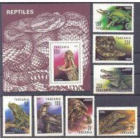 Танзания фауна рептилии