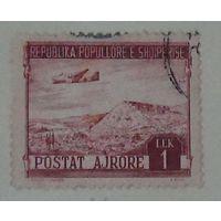 """Самолет Дуглас DC-3 """" Дакота"""" над горами Албании. Албания. Дата выпуска:1950-12-15"""