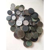 60+ монет РИ, Медь и Серебро. Старт с 1 Копейки