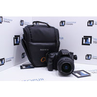 Зеркальный фотоаппарат Sony Alpha SLT-A58K Kit 18-55mm II (20.1Мп). Гарантия.