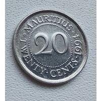 Маврикий 20 центов, 1994 7-1-8