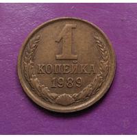 1 копейка 1989 года СССР #09
