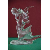 Статуэтка из стекла  Дракон    12 см