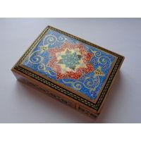 """Эксклюзив для ценителей иранского искусства! Шкатулка ручной работы (техника """"хатамкари"""")"""