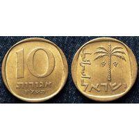W: Израиль, 10 агорот 1976, Краузе КМ#26, алюминиевая бронза (237)
