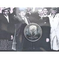 Нидерланды 10 гульденов, 1997 Джордж Кэтлетт Маршалл в блистере - 2