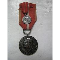 Медаль Домбровчаков с миниатюркой