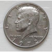 "США 1/2 доллара, 1972 ""D"" - Денвер 1-12-8"