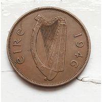 Ирландия 1 пенни, 1946 4-3-9