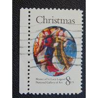 США 1972 г. Рождество.