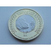 """Гвинея-Бисау. 1 франк 2014 год UC#201 """"100 лет Начала 1-й Мировой войны"""" UNC"""