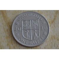 Маврикий 1 рупия 2010