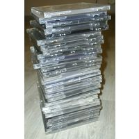 Пустые футляры к компакт-дискам. 30 штук.